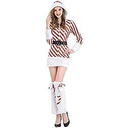 Disfraz de Mamá Noel Christmas Costume Traje de Navidad Mujer