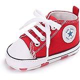 07f1263066e Zapatos para bebé Auxma La Zapatilla de Deporte Antideslizante del Zapato de  Lona de la Zapatilla