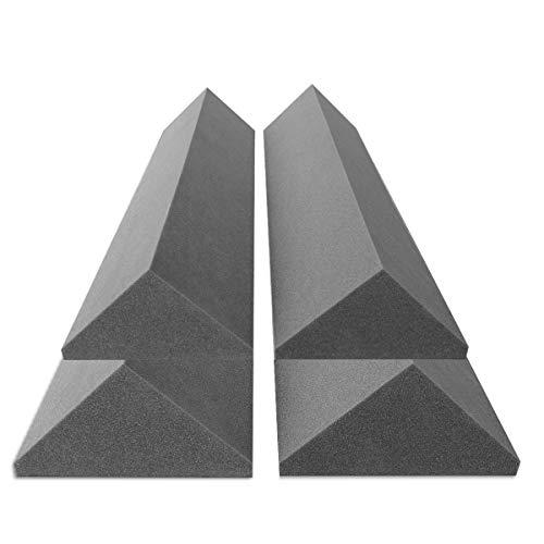 Preisvergleich Produktbild 4 Bass-Trap Absorberelemente,  100cm hoch,  Eckabsorber Breitbandabsorber,  Akustikschaumstoff