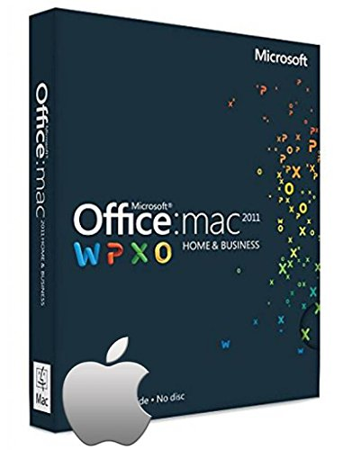 Microsoft Office Home and Business 2011 für 1 MAC - Lizenz, Deutsch - Kein Abo