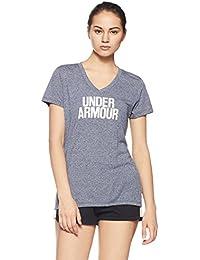 Under Armour Threadborne Train Wood Mark Women's Sports T-Shirt