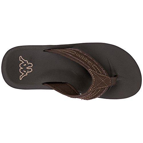 Separatore Di Kappa Men Sea Toe Brown (5050 Marrone)