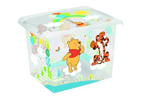 Cajas para juguetes de Disney Winnie The Pooh, 20l, 2 unidades