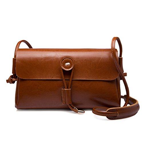 Monospalla piccolo pacchetto/vintage messenger bag/borse da donna per il tempo libero-D A