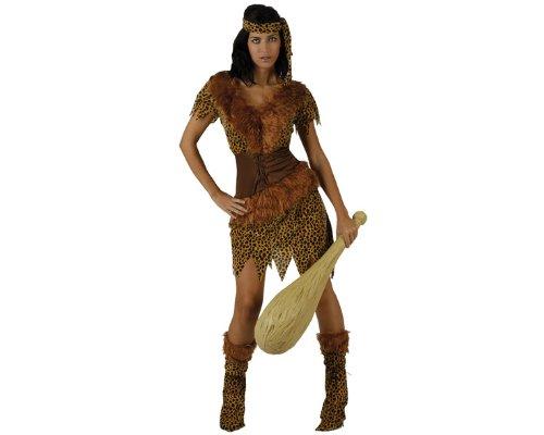 Höhlenmensch-Kostüm für Damen - M / L (Höhlenmenschen Kostüme)
