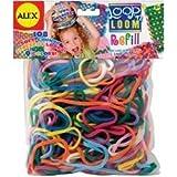 Alex Toys Loop 'n Loom Refill 108/Pkg Multi Colors 184R (1-Pack) by POOF-Slinky, Inc.