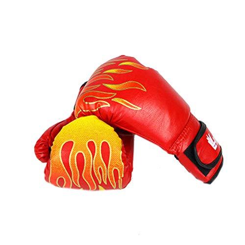 TUWEN Boxhandschuhe für Männer und Frauen Leder infundiert Gel-Trainingshandschuhe für Sparring, Kickboxen Boxsack kämpfen-Handschuhe S Anschlüsse & Outdoor-Spiele