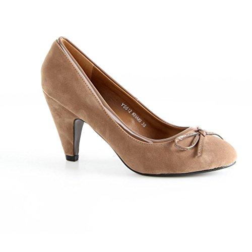 Jumex - alto Donna , kaki (cachi), 38 EU