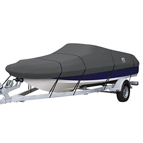 Classic Accessories StormPro Deck Boat Cover, Fits Boats 16' - 18.5' L x 98