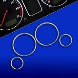 akhan tr10e38–Chromé tachoringe Convient pour BMW E38(7), E39(5), X5E53,