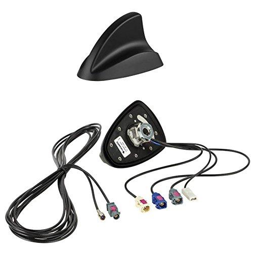 Kleine Gps-antenne (Shark II Radioantenne Radio Antenne AM / FM / DAB+ / GPS auf Fakra (f) Stecker - Einbauort -Dach hinten)