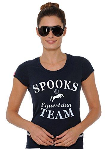SPOOKS T-Shirt Team Shirt navy Größe L (Damen-team-logo-t-shirt Blaue)