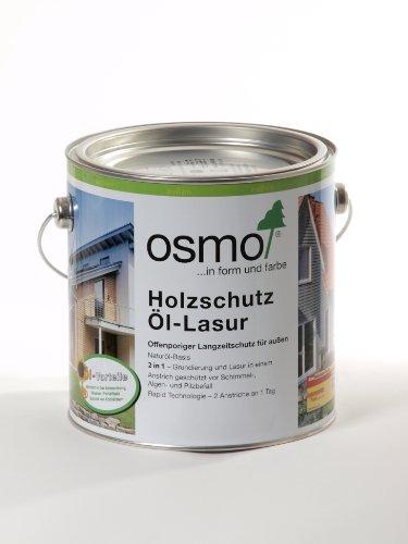 OSMO Holzschutz Öl-Lasur 2,5 Liter Farblos Matt 701