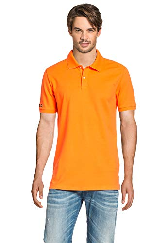 Polo Ralph Lauren Herren Poloshirt Flo Orange, Größe:M, Farbe:Orange
