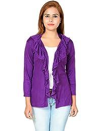 3fb97fff54 Purple Women s Shrugs   Capes  Buy Purple Women s Shrugs   Capes ...