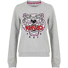 43c34a480307 Kenzo Femme F952sw7054xa93 Gris Coton Sweatshirt