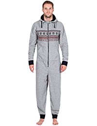MYQyiyi Hombre Pijama de Mono de Poliéster para Casa Diario Casual