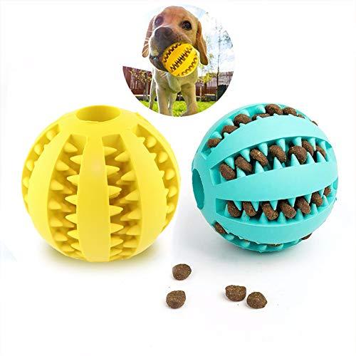 UEETEK 2 Piezas Juguete de Goma Masticar Mascotas