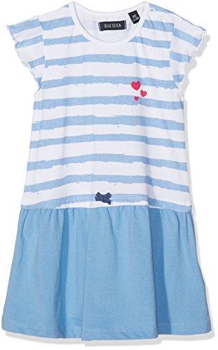 Blue Seven Baby-Mädchen Mini Md Shirtkleid Kleid, (HL Blau Orig 507), 74 -