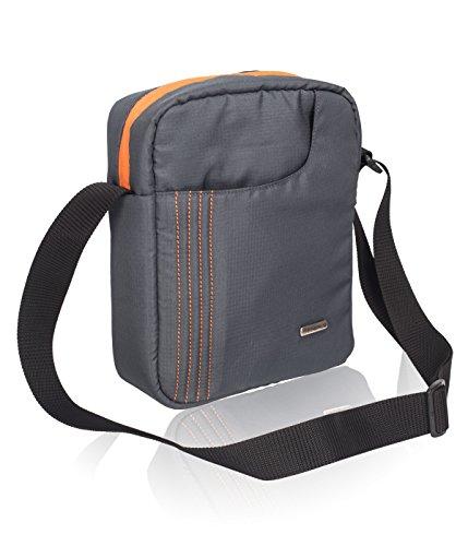 COSMUS Women's Sling & Cross-Body Bag (40051399005,Dark Grey)