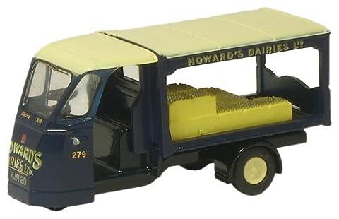 Oxford Die Cast - 76WE007 - Pays de Galles et Edwards Milk Float - Howards Dairies