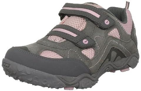 Hi-Tec Tt Ez Jr, Chaussures de randonnée/sport non imperméables mixte enfant - gris - Hot Grey/Candy/Bubblicious, 38-38.5 EU