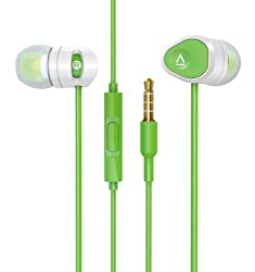 Creative HITZ MA200 Mobile Headset with Microphone Control (Green-White)