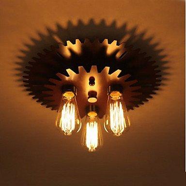 CC A forma di lampade a soffitto Lampada da parete lampada semplici macchinari , bianco caldo-220-240v - Cc Forma
