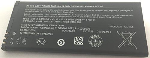Original Microsoft Li-Ionen Akku BV-T5E mit 3000 mAh für Microsoft Lumia 950 (Batterie) - 0670775