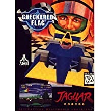 CHECKERED FLAG for ATARI JAGUAR by Atari