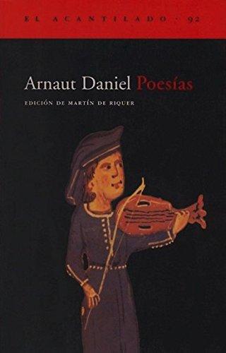 Poesías (El Acantilado) por Arnaut Daniel