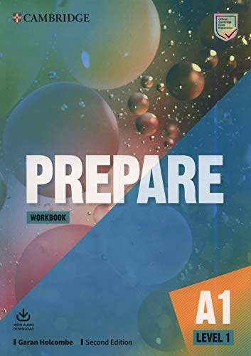 Prepare Level 1 Workbook with Audio Download 2nd Edition (Cambridge English Prepare!)