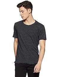 Ed Hardy Men's Striped Regular Fit T-Shirt