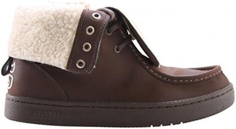 I-Path Skateboard Boots- Shearling- Brown Nubuck/Natural Shearling