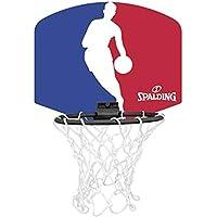 Spalding NBA Team Mini Tarjeta Varios Equipos con Pelota, NBA Logoman