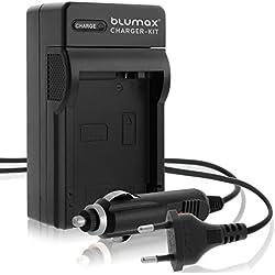 Invero® LP-E5 Caméra Batterie Chargeur avec Chargeur de Voiture pour Canon EOS 1000D EOS 450D EOS 500D Digital Rebel T1i XSi XS
