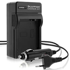 Invero® Li-70b Li70b Caméra Batterie Chargeur avec Chargeur de voiture pour Olympus D-700 D-715 D-745 FE-4040 VG-160 VG-150 VG-145 VG-140 X-990 X-940