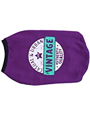 Choostix Vintage Winter T-Shirt, Purple (Size 26)