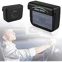 Solar Sun Power Car Auto Ventilación de Aire Cool Fan Cooler Sistema de ventilación Radiador