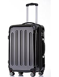 BEIBYE Zwillingsrollen 2048 Hartschale Trolley Koffer Reisekoffer in M-L-XL-Set in 17 Farben
