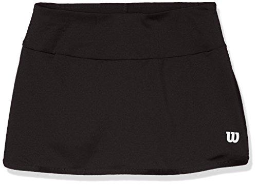 Wilson Mädchen Tennis-Rock, G Team 11'' Skirt, Polyester/Elasthan, Schwarz, Größe: XS, WRA766902