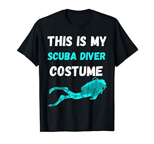 This Is My Scuba Diver Costume Dive Taucher Kostüm T-Shirt
