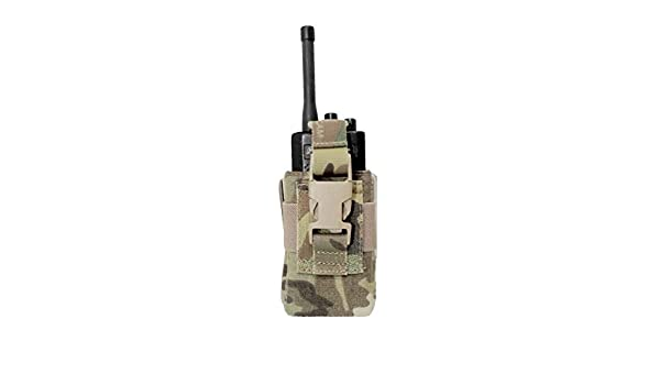 Invader Gear Radio Pouch Molle Compatible Army Airsoft Style 2 Way Gps