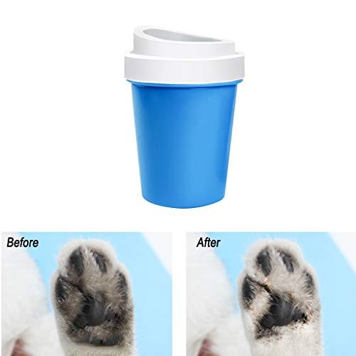 DQANIU ❤️❤️ Cup Design Pet Dog/Cat Fußreinigung Cup Pfotenbürste Clean Tool Waschen ()
