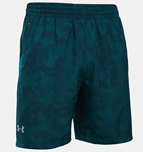 Under Armour Herren Running Kurze Hose UA Launch 7 Zoll Woven Shorts blau, S (Shorts Woven Jordan)