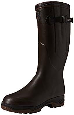Aigle Parcours 2 Iso Gummistiefel 8421 Unisex-Erwachsene Warm gefüttert Gummistiefel Langschaft Stiefel & Stiefeletten, Braun (brun 5), 36