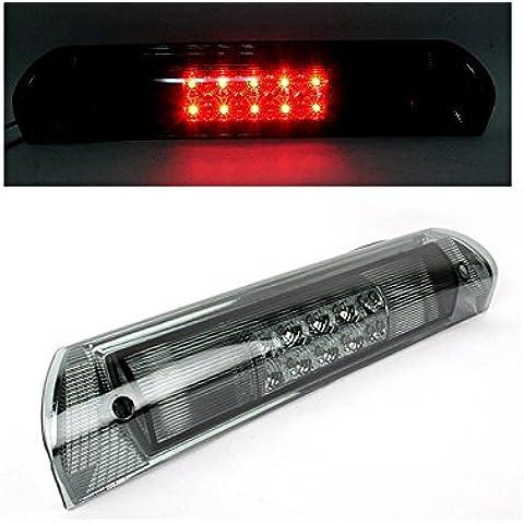 DELTALIP LED trasera tercera luz de freno de parada para Dodge Ram 150025003500humo lente