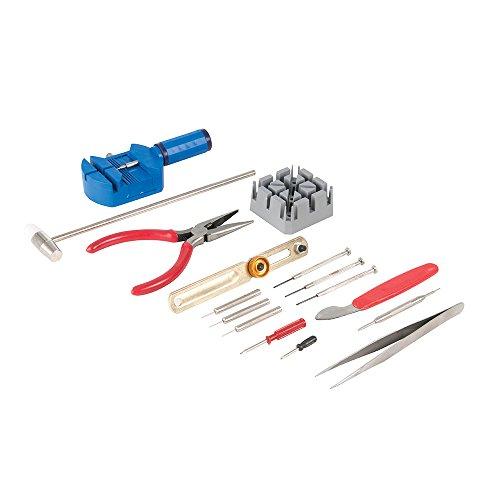 Silverline 870757 Uhrmacherwerkzeugsatz, 16-teilig