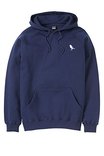 Cleptomanicx Embro Gull Sweater Dark Navy