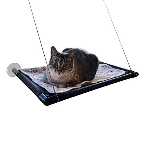 Dracarys amaca per gatti da finestra - sunny seat lettino da sole per gatti riposante letto per gatti con ventose- sicurezza persico per finestra cat shelves hold up 60 lb